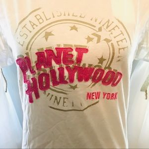 NEW YORK Planet Hollywood Fitted Tee